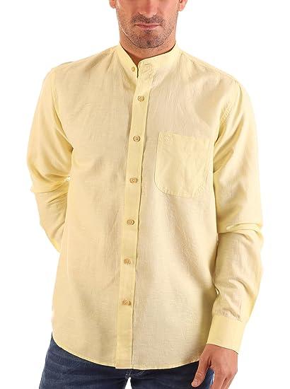 Lois Camisa Hombre Barco Perte Amarillo XL: Amazon.es: Ropa y ...