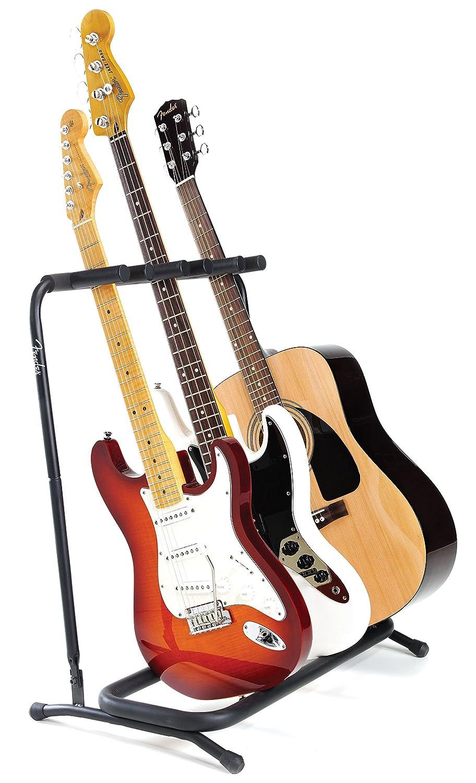 Fender Multi Folding Guitar Stand 3 - Soporte multistand 3 guitarras 0991808003