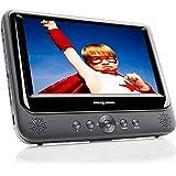 Nextbase NB49 Lettore DVD portatile da 22,8 cm (9 pollici), incl. supporto per auto e accessori