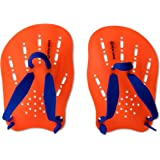 New Wave Swim Paddles - Contoured Swimming Hand Paddles for SwimRun & Triathlon Training