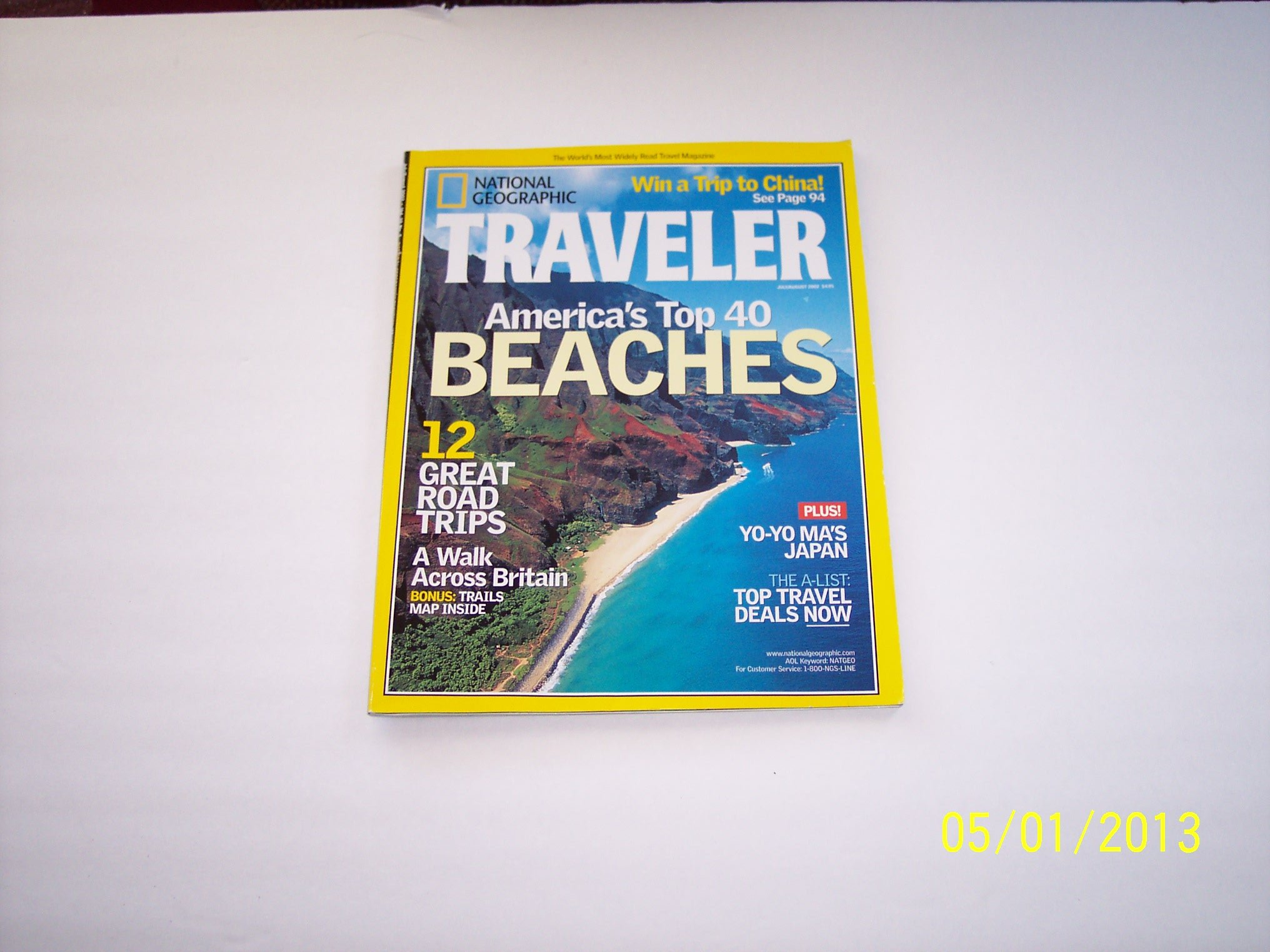 National Geographic Traveler July/August 2002: Various