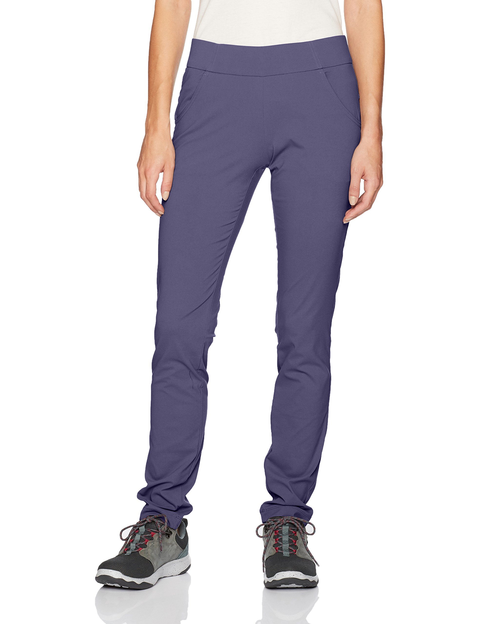 Columbia Women's Anytime Casual Pull On Pant, Nocturnal, X-Small x Regular