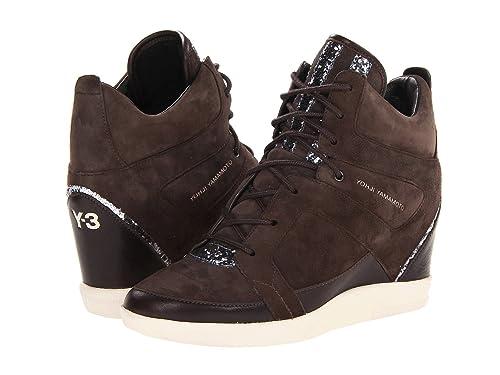 acb552d30aaf7 Adidas Y-3 Sukita II by Yohji Yamamoto Women Shoes Dark Brown Q35277 (SIZE