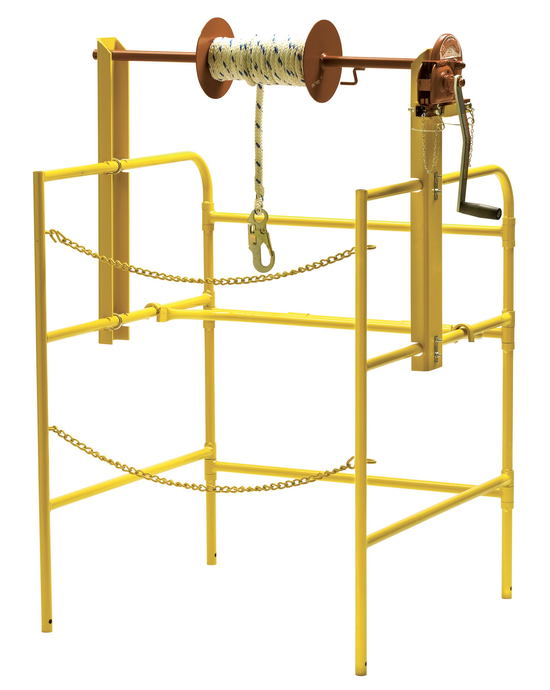 Work Area Protection WAML-42DX On-Top Manhole Material Lift, 42'' Width