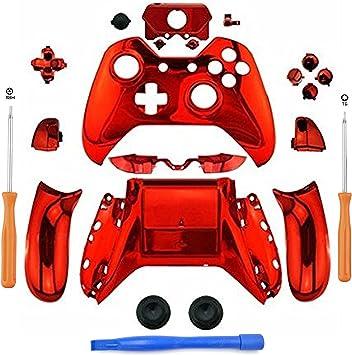 YB-OSANA - Juego de Botones cromados de Repuesto para Mando de Xbox One con Conector Jack de 3,5 mm para Xbox One con Mando de 3,5 Puertos Xbox One: Amazon.es: Electrónica