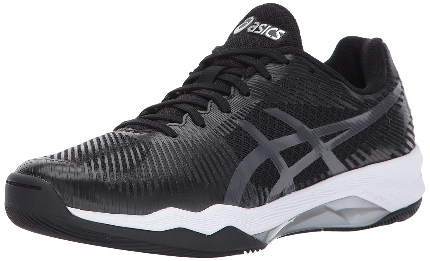 ASICS Women's Volley Elite FF Volleyball Shoe B01N07HEVA 12 B(M) US|Black/Dark Grey/White