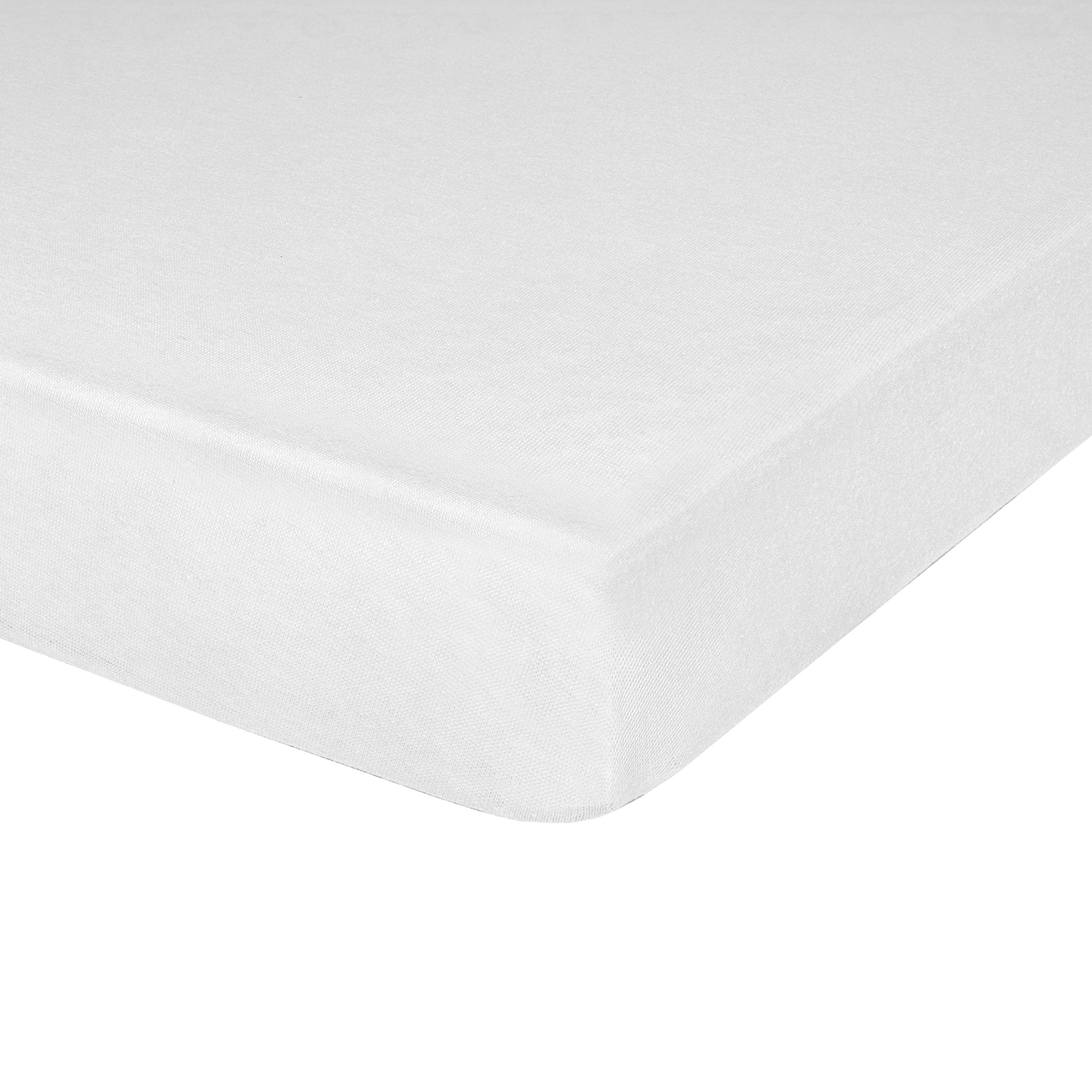 Soft Micro Polyester Cot Size Breathable Comfort Mattress Bed Bug Protector Fits Camp Size Matteress 31X75