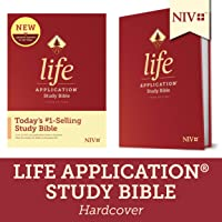 NIV Life Application Study Bible, Third Edition (Hardcover) Tyndale NIV Bible with Updated Notes and Features, Full Text New International Version