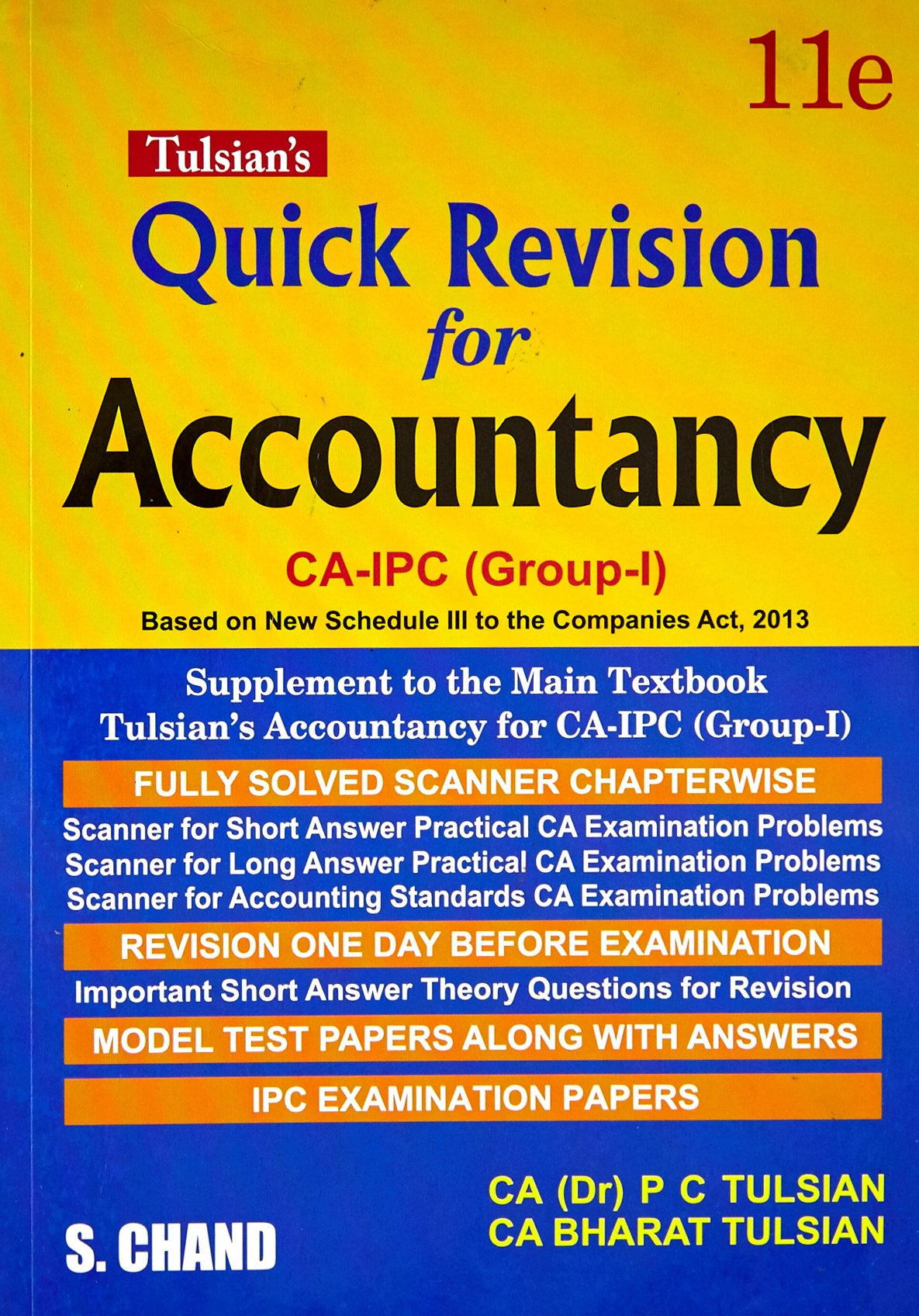 Buy Accountancy for CA-IPC (Group-I) - With Quick Revision Book Book Online  at Low Prices in India | Accountancy for CA-IPC (Group-I) - With Quick  Revision ...