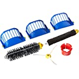 iRobot 4636432 Authentic Replacement Parts - Roomba 600 Series Replenishment Kit (1 Bristle Brush, 1 Beater Brush, 1 Spinning