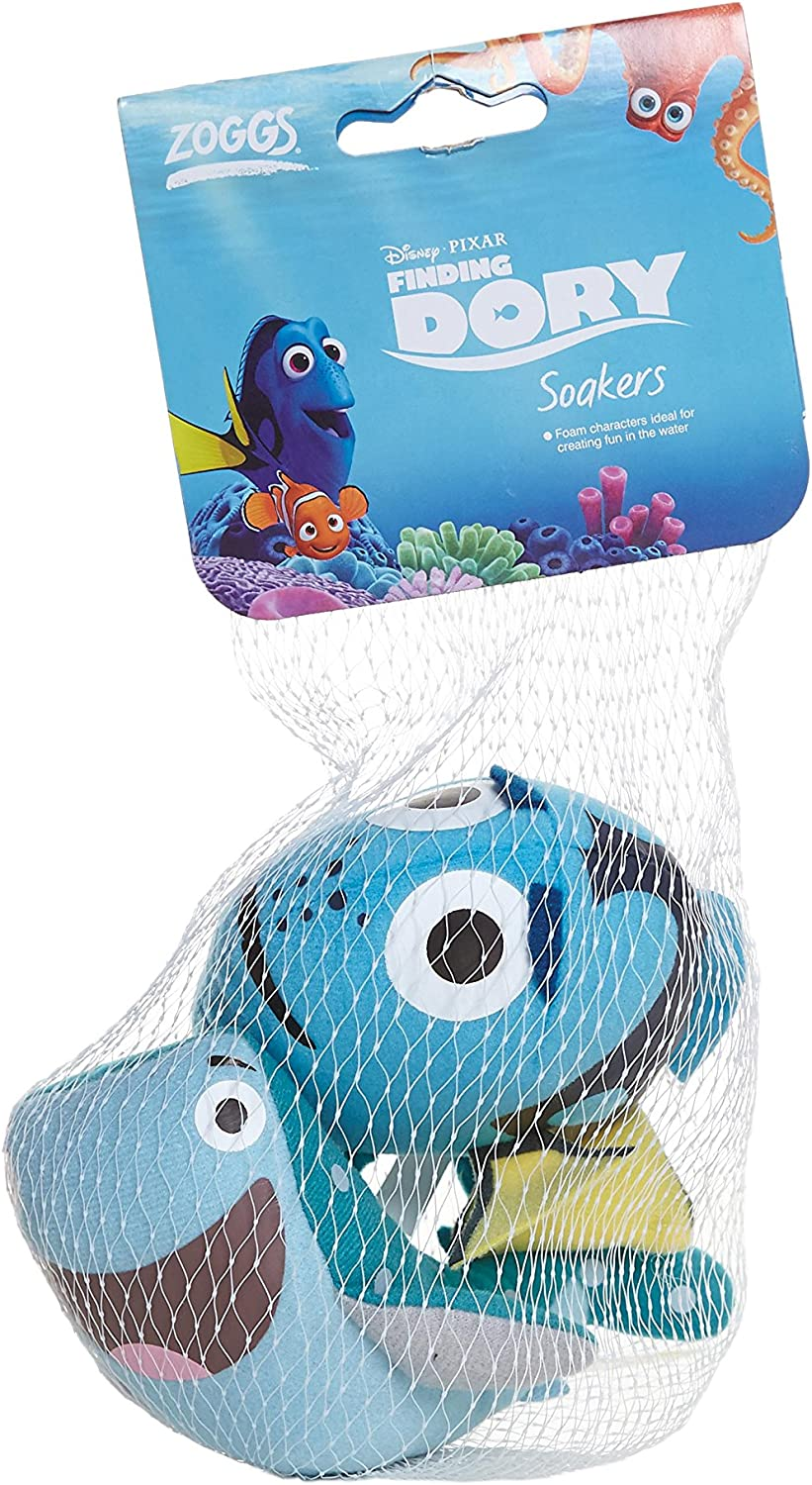 Safe for Above 3 Months Zoggs Kids Soaker Pool /& Bath Toys