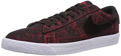 brand new c3e0b 9e036 Nike Men s Blazer Low Premium Vintage Trainers Red Rot (University Red Black -White