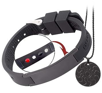 Brazalete de protección radiológica anti-EMF QUANTHOR (collar de bonificación) Brazalete magnético 4