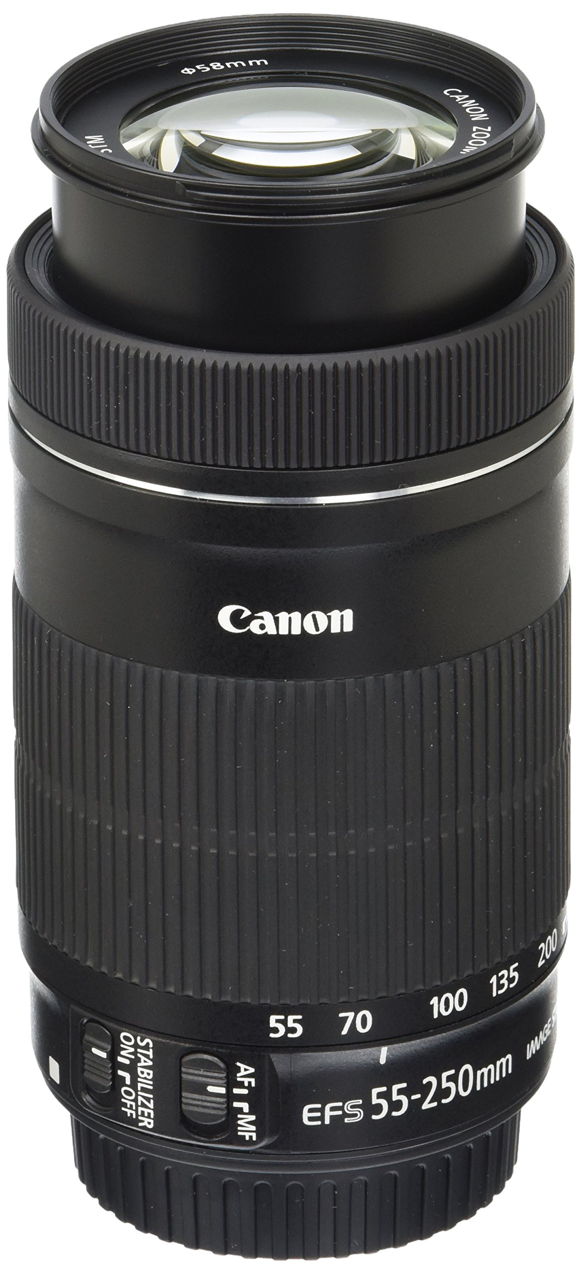 Canon EF-S 55-250mm F4-5.6 IS STM Lens for Canon SLR Cameras by Canon