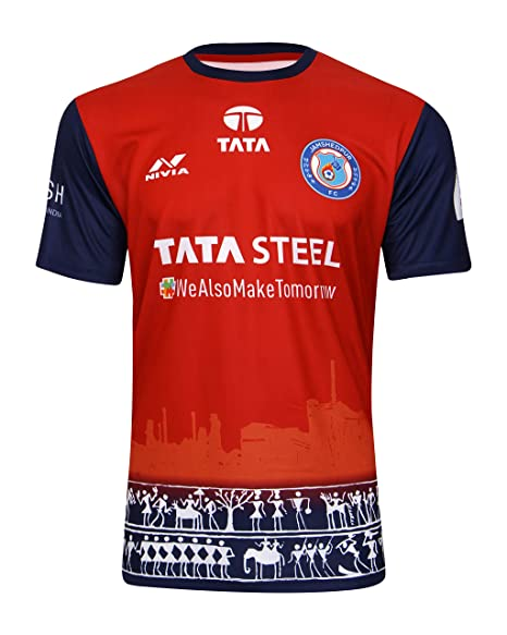 639172f0599 Buy Jamshedpur FC Full Sublimation Match Jersey Replica Online at Low  Prices in India - Amazon.in