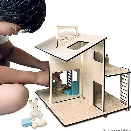 15 Piece 1930/'s Design Coffee Set Dolls House Miniature 1.12 Scale