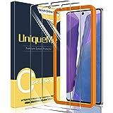UniqueMe [3-pack] skärmskydd för Sam 20, härdat glas, [Anti-rep] [Fodralvänlig] HD klarhet [bubbelfri] Anti…