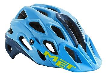 MET Adultos Casco para Bicicleta de montaña Lupo, Primavera/Verano, Unisex, Color