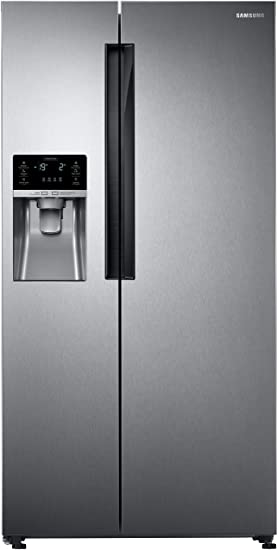 Samsung 654 L Frost Free Side-by-Side Refrigerator(RS58K6417SL/TL, EZ Clean Steel) Refrigerators at amazon