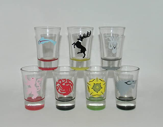6d93d84f997b Image Unavailable. Image not available for. Color  Game of Thrones shot  glass ...