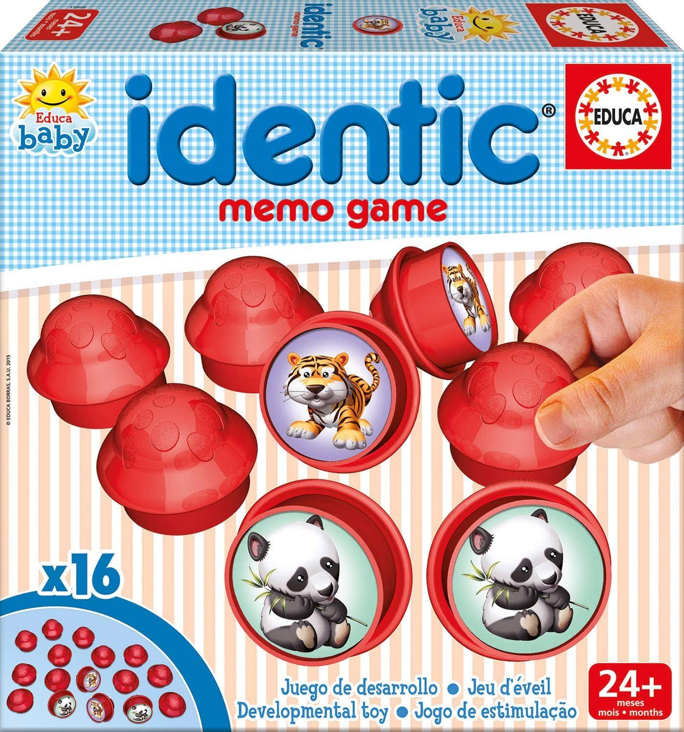 Educa Borrás - Baby Identic Memo Game, Juego de Mesa (15866): Amazon.es: Juguetes y juegos