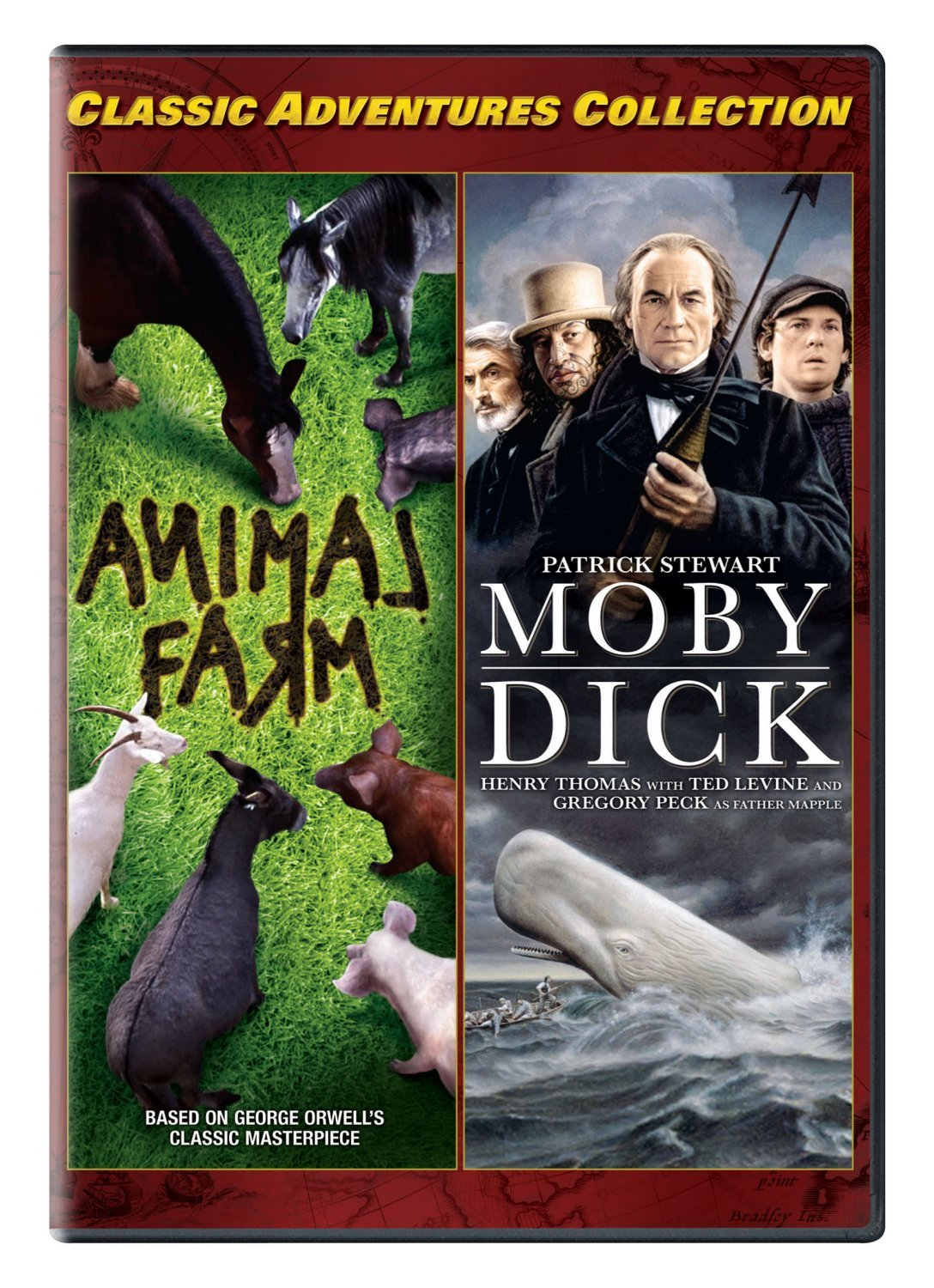 Classic Adventures Collection 3 (Animal Farm / Moby Dick) by Vivendi Entertainment