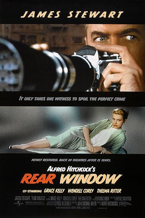 "Amazon.com: Rear Window (1954) Movie Poster 24""x36"": Posters & Prints"