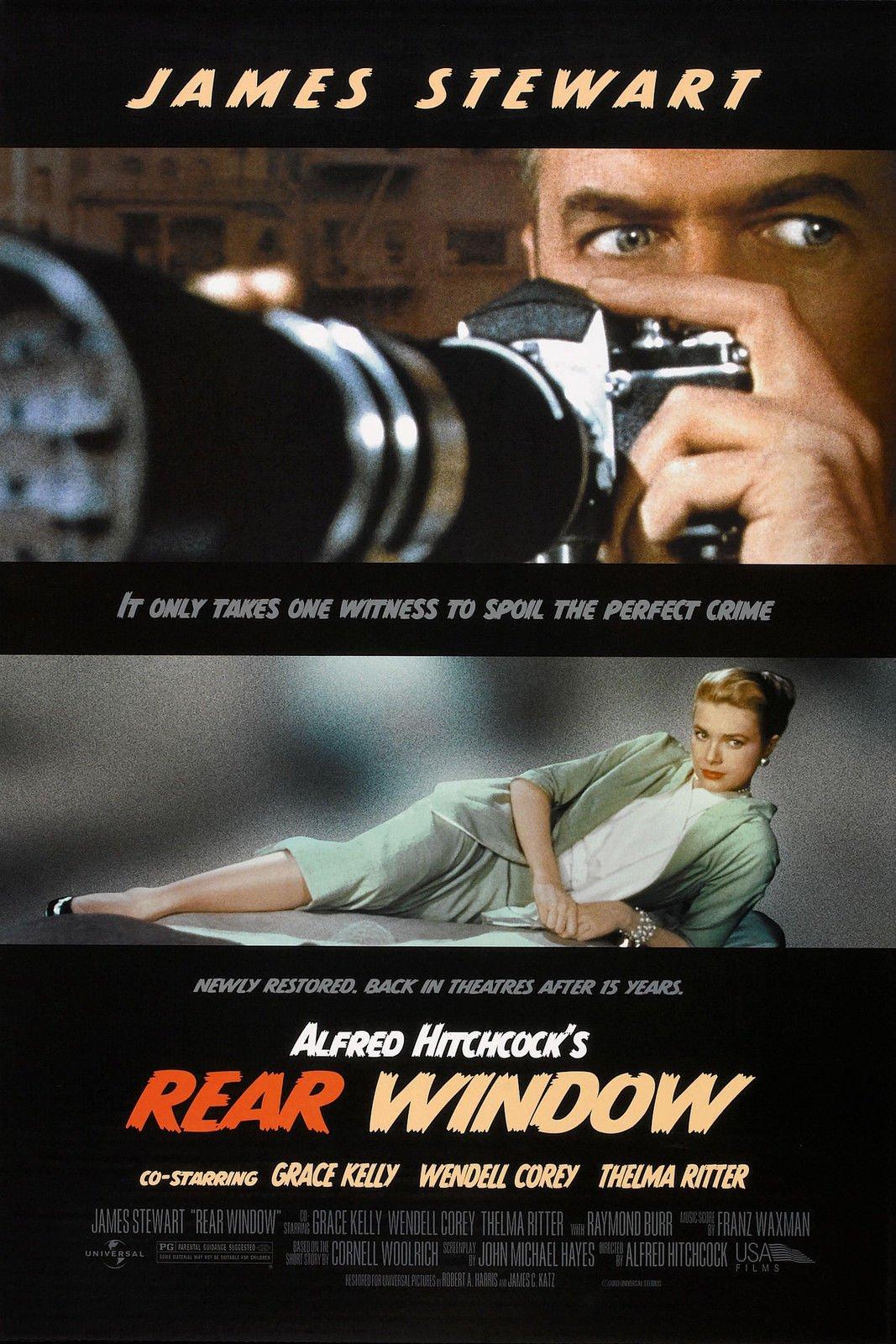Rear Window (1954) Movie Poster 24''x36''