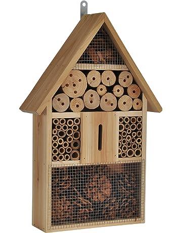 XXL para insectos Abejas Hotel Insectos Casa con machimbre de madera Refugio para avispas