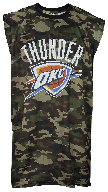 Oklahoma City Thunder NBA Big & Tall Mens Camo Muscle Shirt、カモグリーン 3XL Big  B00Q7JO78E