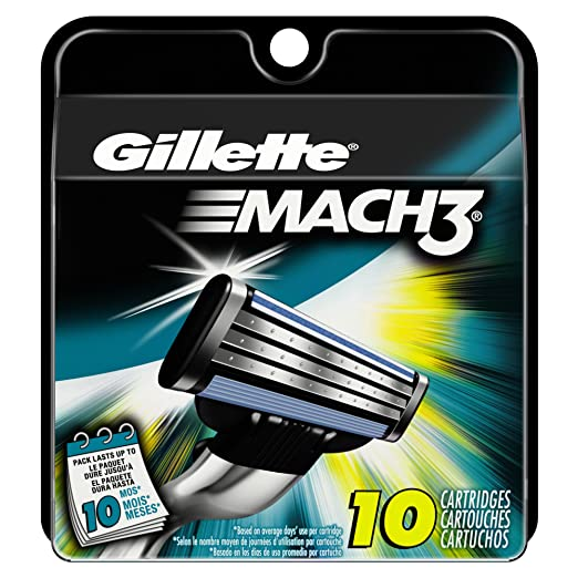Gillette Mach3 10ct Men`s Razo...