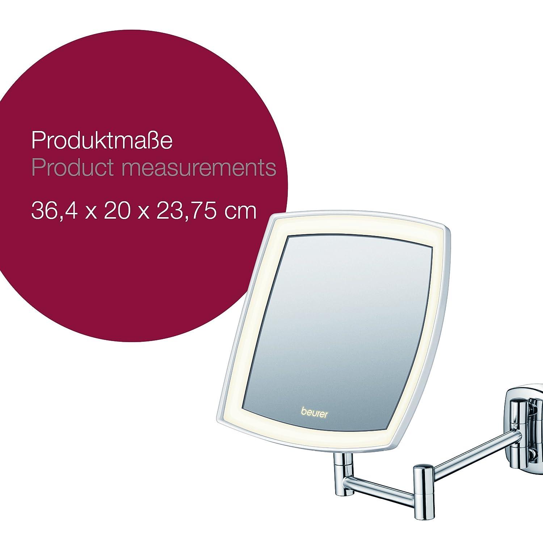 Beurer BS 89 LED Kosmetikspiegel beleuchtet zur Wandmontage 5
