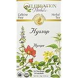 Celebration Herbals Teabags Herbal Tea Hyssop Organic - 24 Herbal Tea Bags