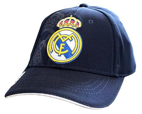 check-out ce972 6465d Casquette Real Madrid Club Ronaldo CR7 Enfant Junior Logo ...