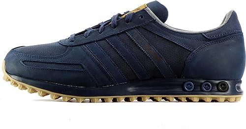 la trainer adidas blu