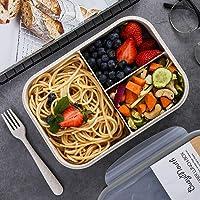BusyMouth 3-Compartment Bento Box (White)
