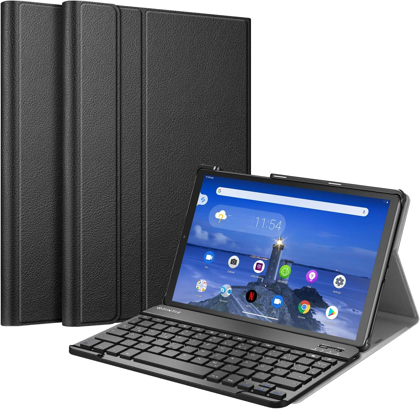 Fintie Keyboard Case For Lenovo Tab M10 Fhd Plus Computers Accessories