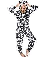 Autumn Faith Ladies Fleece All In One Piece Pyjamas Jump Sleep Suit Onesie PJS Nightwear New
