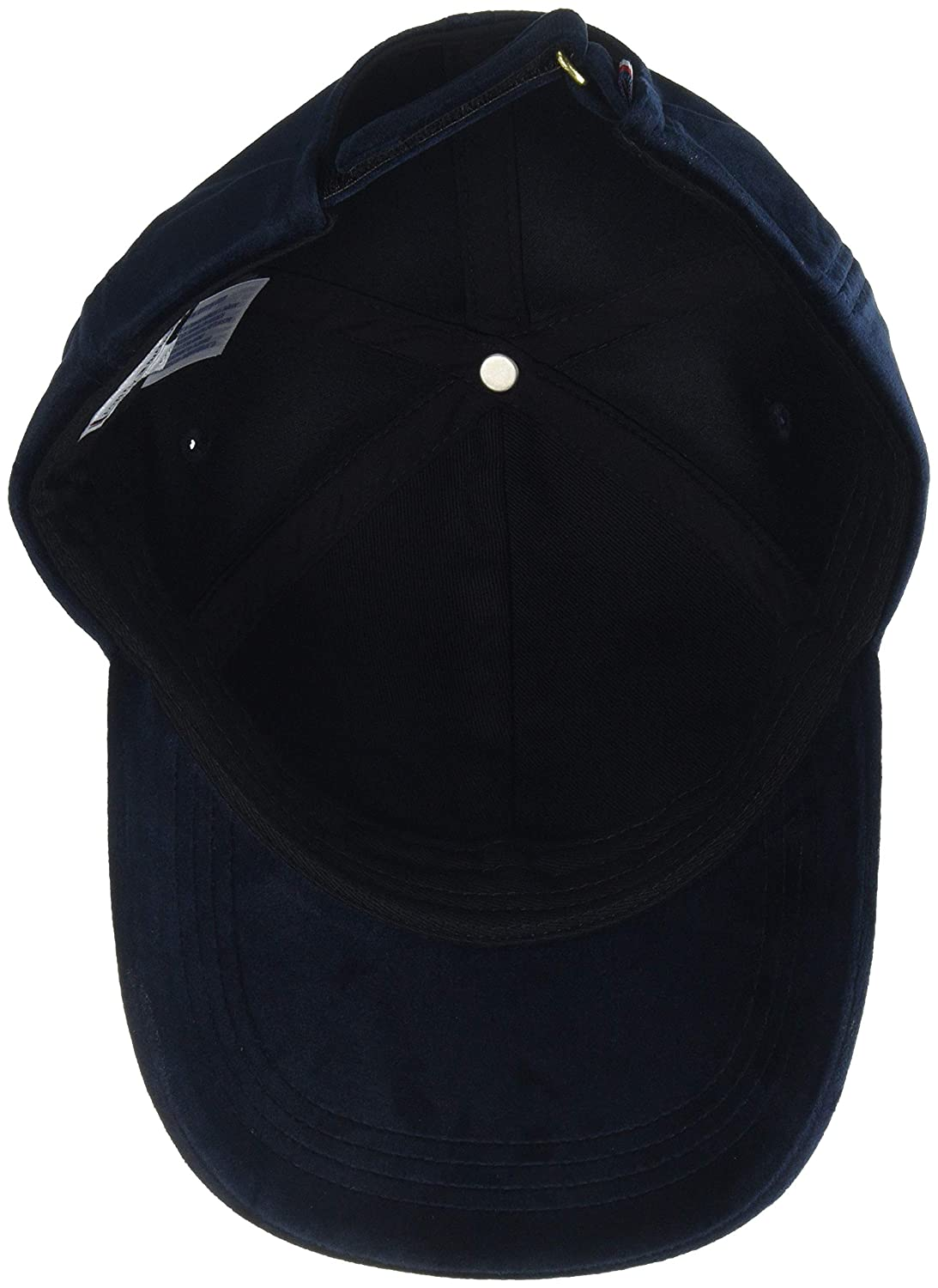 Tommy Hilfiger Womens Tommy Patch Cap Velvet Baseball