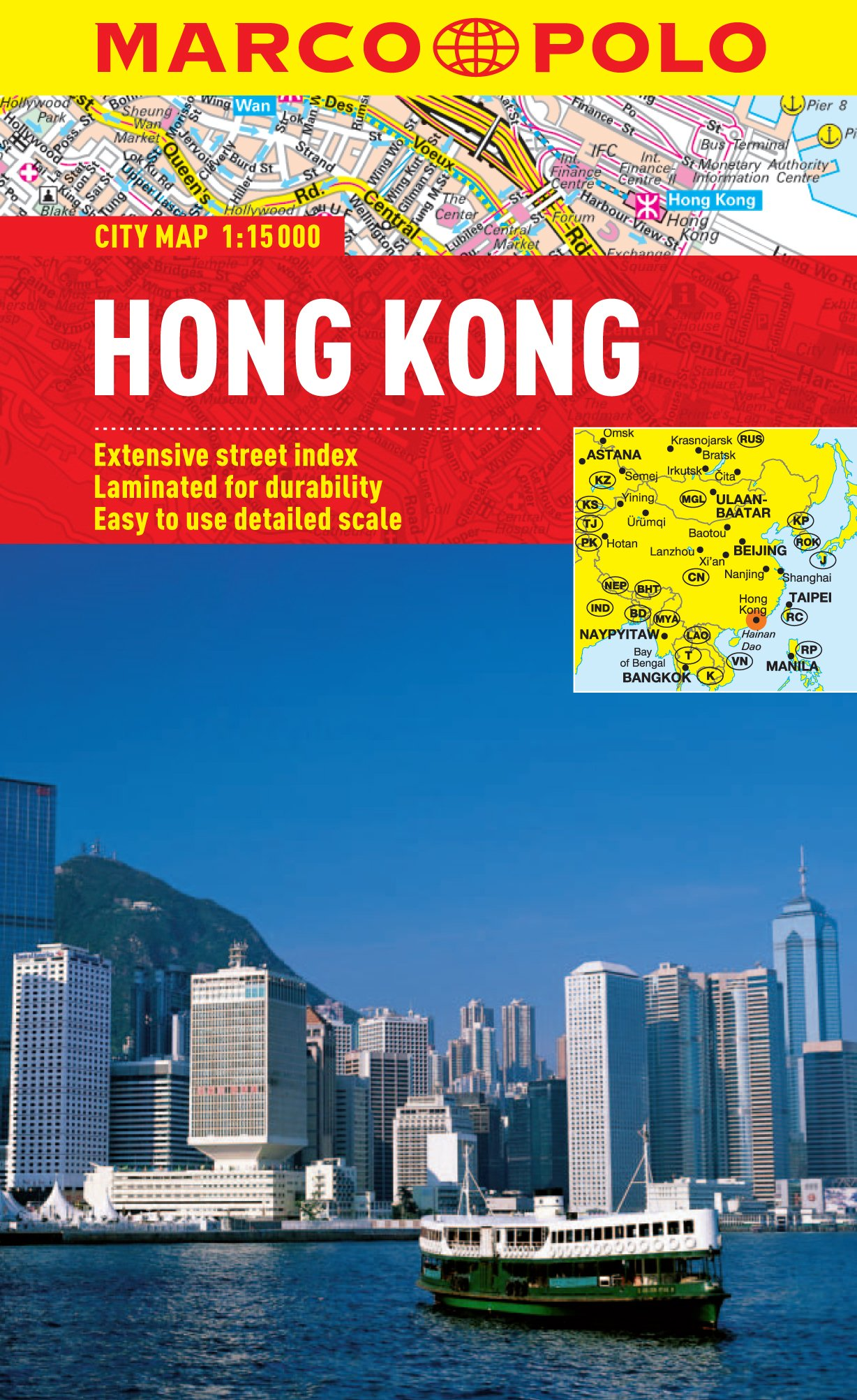 Marco Polo City Map Hong Kong (Marco Polo Maps)