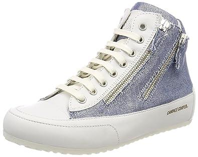 Candice Cooper Damen Crust Hohe Sneaker, Weiß (Bianco), 37 EU