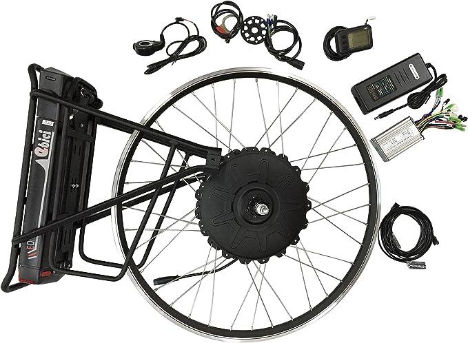 Ebici Kit Motor eléctrico 36V LCD 500W: Amazon.es: Deportes y aire libre
