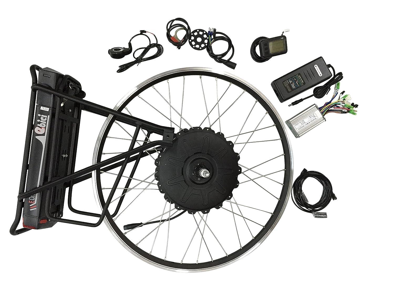 26Zoll 1000W E-Bike Hub Motor Hinterrad Umbausatz Elektrofahrrad Conversion Kit
