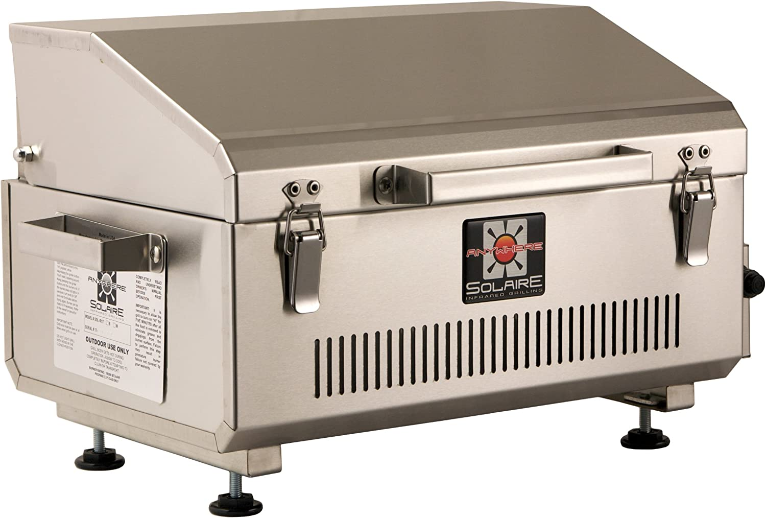New Sunco 390mm x 485mm Stainless Steel Grill