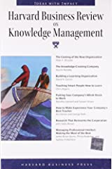 """Harvard Business Review on Knowledge Management (""""Harvard Business Review"""" Paperback S.) Paperback"""