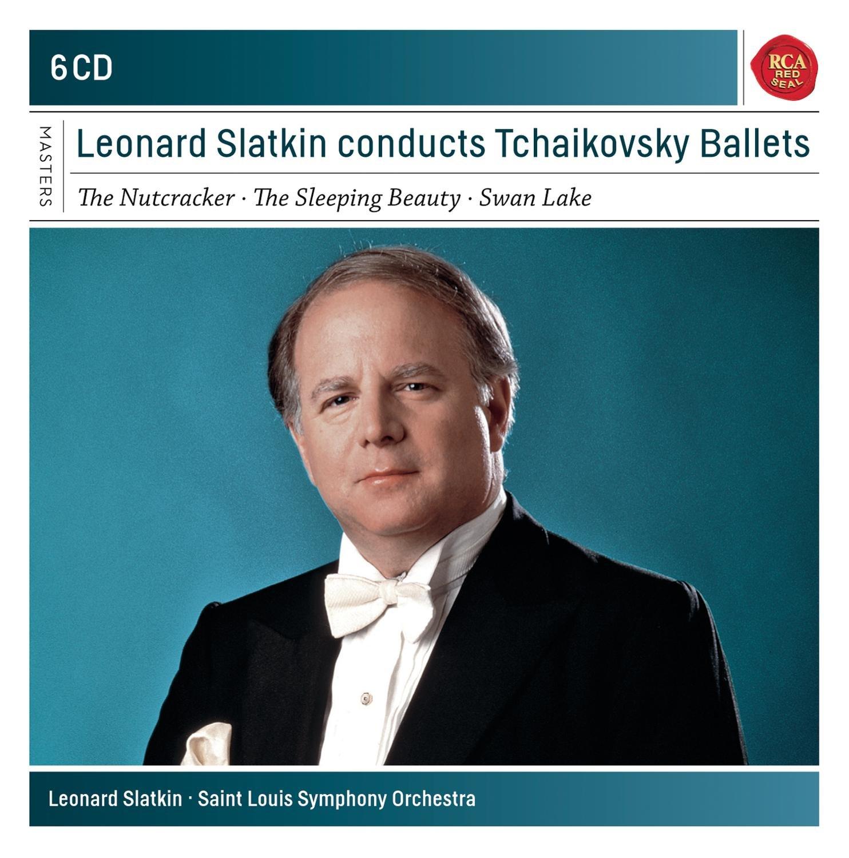 CD : Leonard Slatkin - Leonard Slatkin Conducts Tchaikovsky Ballets (Boxed Set, 6PC)