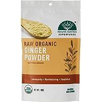 Nature's Nutrition Raw Organic Ginger Powder, 100g
