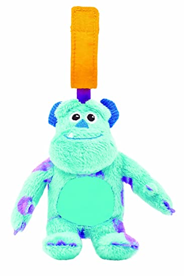 Amazon.com : Disney Baby On-The-Go Chime Toy, Monsters Inc ...
