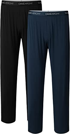 Long Pants Brand Mens Sleepwear Sleeping Pants Pajamas Robe sleep Yoga Bottom #A