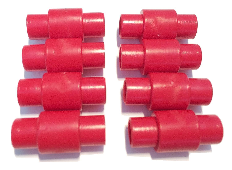 FreeWheeling Paquete de de 8 espaciadores de rodamientos para ruedas de motos, patines en línea, quads y rodillo. Dim 23,4mm - Diam 10,8mm | 1117548: ...